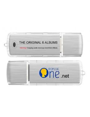 cle usb bio music :  6 cd sur une seule cle